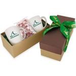 2 Mug Gift Box- Starlight Mints