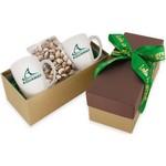 2 Mug Gift Box- Pistachios
