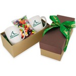 2 Mug Gift Box- Jelly Bellies