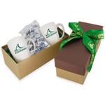 2 Mug Gift Box- Hershey Kisses