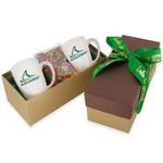 2 Mug Gift Box- Chocolate Sunflower Seeds
