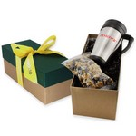 Travel Mug Gift Box- Mini Pretzels