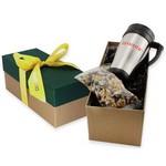 Travel Mug Gift Box- Chocolate Sunflower Seeds