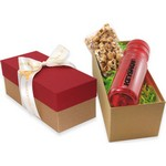 Sport Bottle Gift Box- Caramel Popcorn