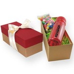 Sport Bottle Gift Box- Chocolate Almonds