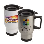 Stainless Steel 14oz Travel Mug - Full Color