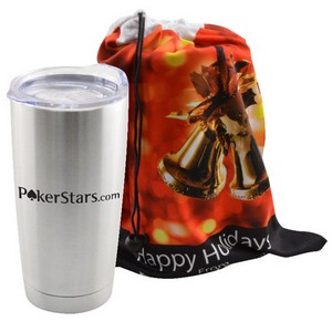 Gift Bag 20 oz Stainless Steel Tumbler