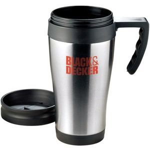 16 oz Stainless Steel Insulated Travel Mug