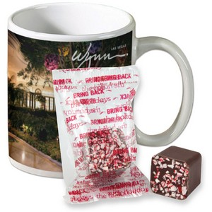Full Color Mug with Hot Cocoa Cube