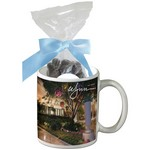 Mug with Dark Chocolate Almonds Mug Drop
