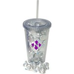 16 oz Insulated Acrylic Tumbler - Hershey Kisses