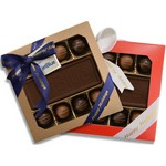 Custom Chocolate with 8 Truffles Gift Box
