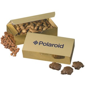 Gift Box with Chocolate Baseballs