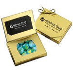 Business Card Box with Chocolate Globes