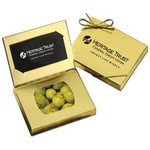 Business Card Box with Chocolate Tennis Balls