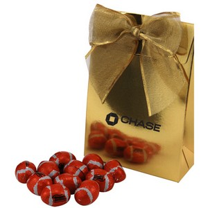 Gable Box with Chocolate Footballs