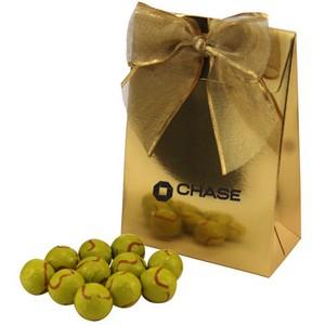 Gable Box with Chocolate Tennis Balls