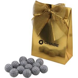 Gable Box with Chocolate Golf Balls