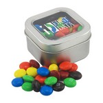 Window Tin with M&M's