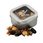 Window Tin with Trail Mix