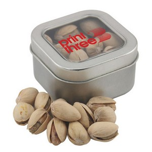 Window Tin with Pistachios
