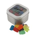 Window Tin with Gummy Bears