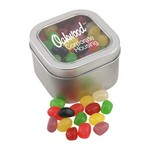 Window Tin with Jelly Beans