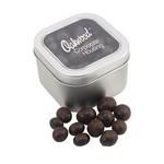 Window Tin with Chocolate Espresso Beans