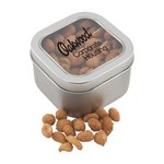 Window Tin with Honey Roasted Peanuts