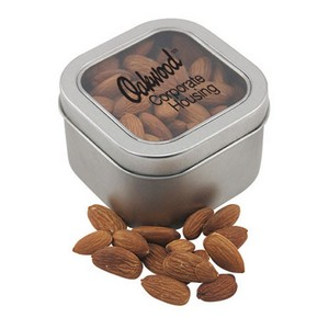 Window Tin with Almonds