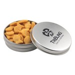Round Tin with Goldfish