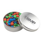 Round Tin with M&M's