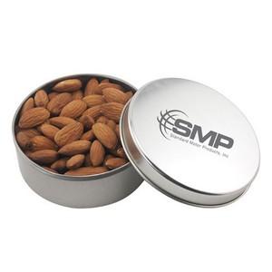 Round Tin with Almonds