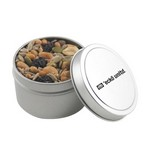 Round Tin with Trail Mix
