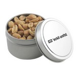 Round Tin with Peanuts