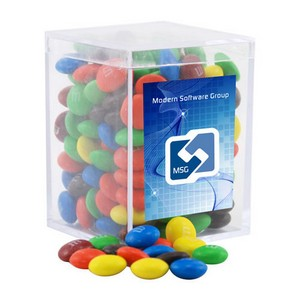 Acrylic Box with M&M's