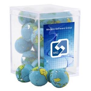 Acrylic Box with Chocolate Globes