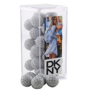 Acrylic Box with Chocolate Golf Balls