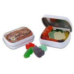 Mini Hinged Tin- Gummy Bears