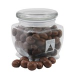 Jar with Chocolate Covered Peanuts