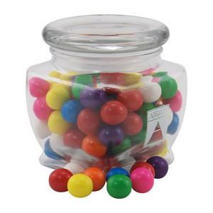 Jar with Gumballs