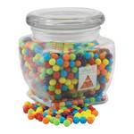 Jar with Mini Jawbreakers