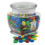 Jar with Chocolate Lentils