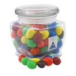 Jar with Peanut M&M's