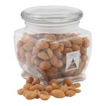 Jar with Honey Roasted Peanuts