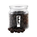 Jar with Chocolate Espresso Beans