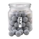Jar with Chocolate Golf Balls