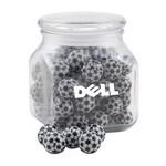 Jar with Chocolate Soccer Balls