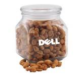 Jar with Honey Roasted Peanuts