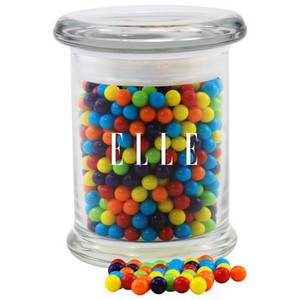 Jar with Mini Jawbreakers